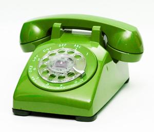 Follow Us on Telephone