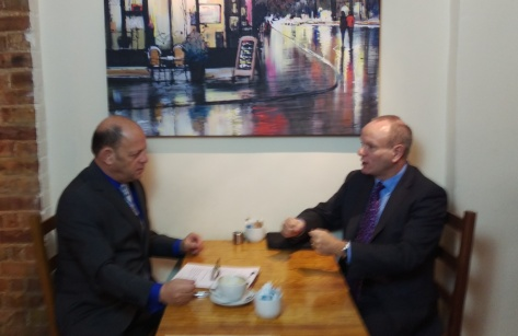 Jeremy Jacobs & Mike Freer MP